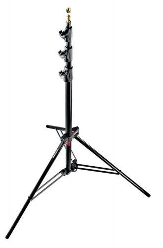 Master Lighting Stand, Aluminium, Air Cushioned, Black -0