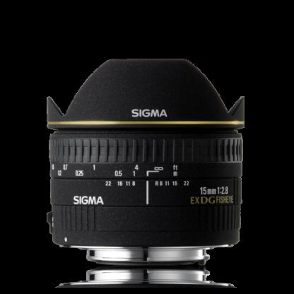 Sigma Lens 15mm F2.8 EX DG Diagonal Fisheye-0