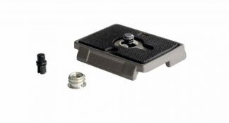 Quick Release Plate with 1/4'' Screw and Rubber Grip -0