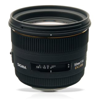 SIGMA LENS 50MM f1.4 EX DG HSM-0