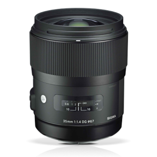 SIGMA LENSE 35mm F1.4 DG HSM-0