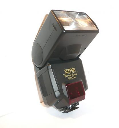 SUNPACK POWERZOOM 4000AF FOR CANON FLASH/ BRAND NEW-0