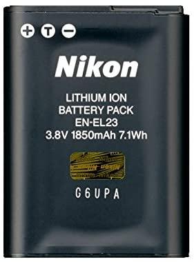 Nikon EN-EL23 Li-ion Rechargeable Battery for COOLPIX -0