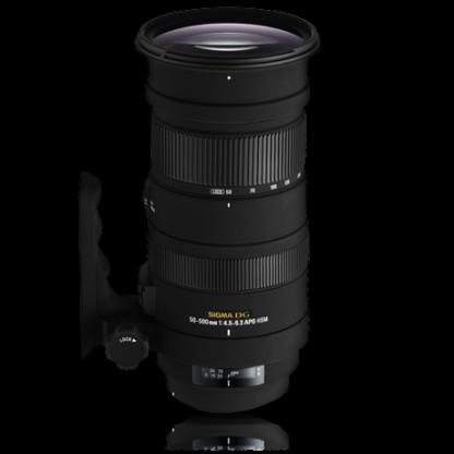 Sigma Lens 50-500mm f4-5,6 EX APO HSM OS Nikon and Canon Mount-0