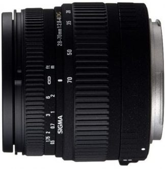Sigma 28-70mm f/2.8-4 DG Aspherical Large Aperture Zoom Lens for Nikon-0