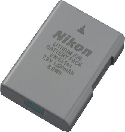 Nikon EN-EL14a Lithium Ion Rechargeable Battery for Camera -0