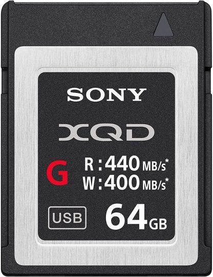 Sony Professional XQD G Series 64GB Memory Card-0