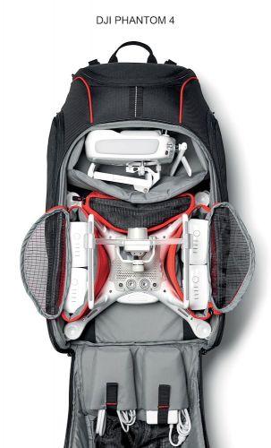 Aviator Drone Backpack for DJI Phantom, rain cover-0
