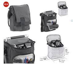 National Geographic NG W2300 Walkabout Slim Shoulder Bag for Mirrorless Camera with iPad (Gray) -0