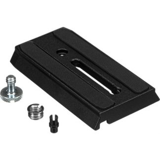 """Manfrotto 501PL Sliding Quick Release Plate with 1/4""""-20 Screw-0"""