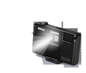 Nikon Coolpix S1000pj Digital Camera-0