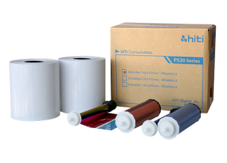 HiTI P520L/P525L Print Kit Paper-0
