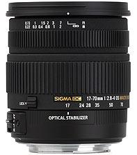 SIGMA 17-70 F2.8-4 DC MACRO OS-0