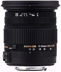 SIGMA LENS 17-50 F2.8 EX DC OS-0