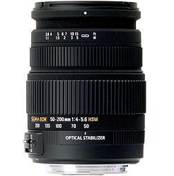 SIGMA LENS 50-200 F4.5-6 DC OS Canon Mount-0