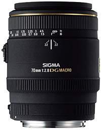 Sigma 70 mm f/2.8 EX DG Macro Nikon Mount-0