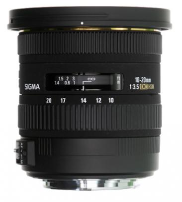 SIGMA LENS 10-20 F3.5 EX DC HSM CA-0
