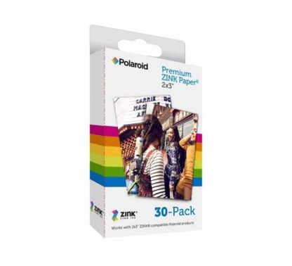 "Polaroid ZINK Zero Ink Paper 2"" x 3"" x 20 sheets-0"